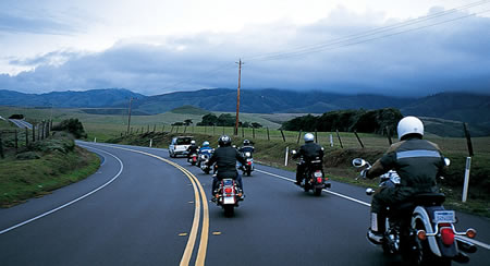 Motorcycle Group Ride