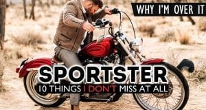 10 things i dont miss about my harley-davidson sportster