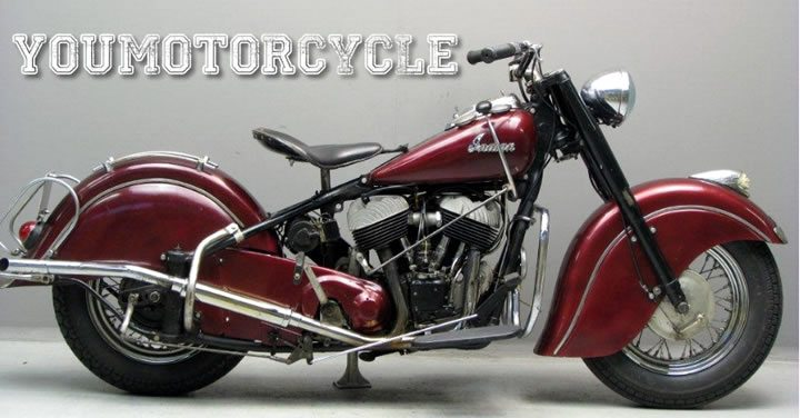 1950s Indian Motorcycle