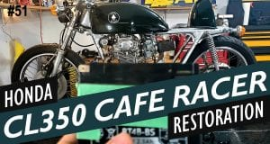 1973 Honda CL350 Café Racer Restoration - Part 1