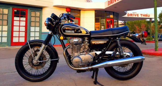1975 Yamaha XS650 Restoration by Casey Anderson