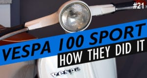 1979 Vespa 100 Sport Review