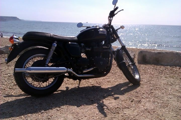 2004 Triumph Bonneville near Dorset United Kingdom