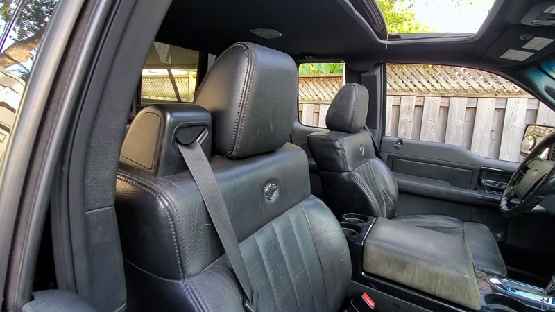 2006 Ford F-150 Harley-Davidson Edition leather heated seats