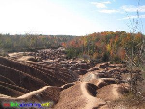 Nice Badlands in the fall.