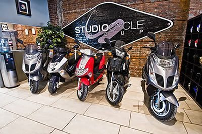 Inside Studio Cycle Group