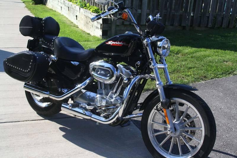 2007 harley davidson sportster xl 883 youmotorcycle. Black Bedroom Furniture Sets. Home Design Ideas