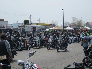 Port Dover Friday the 13th - Biketown