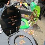 Port Dover Custom Painted Toilet Seat