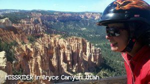 Woman Rides Her Motorcycle Alone Across The United States