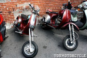 vespa chopper