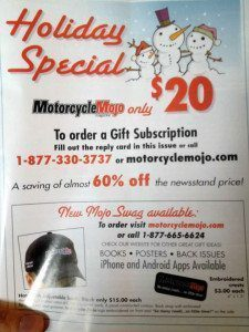 Motorcycle Mojo Holiday Special