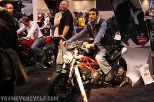 Toronto Motorcycle Show Ducati Monster