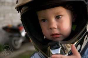 new motorcycle rider