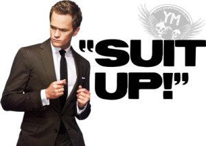 barney suit up how i met your mother