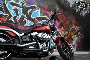2013 Harley-Davidson Breakout Graffiti Side