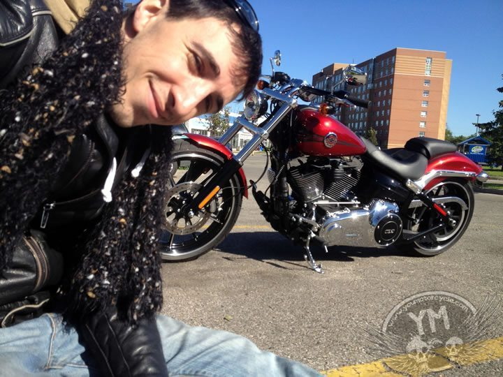 2013 Harley Davidson Breakout and me