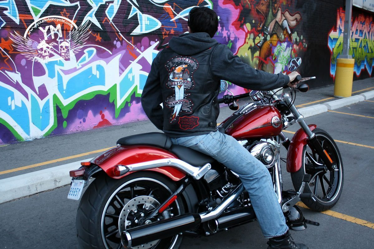 Ed Hardy Motorcycle Vest - Death Before Dishonor
