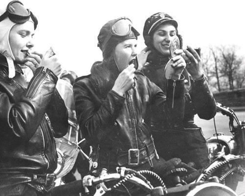 Early Women Motorcyclists