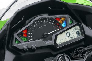 Kawasaki Ninja 300R Instrument Dashboard Panel