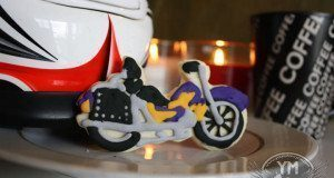 Motorcycle Cookie