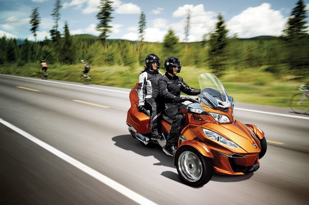 2014 Can Am Spyder Two Up Ride