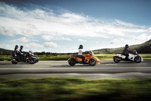 2014 Can Am Spyder Ride
