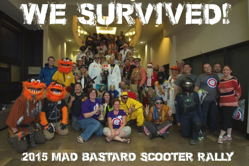 2015 Mad Bastard Scooter Rally