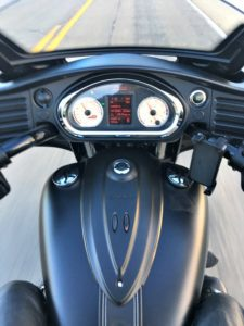 2017 Indian Chieftain Review - Dashboard