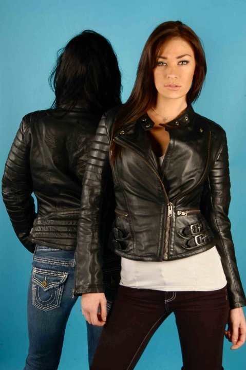 NEXO Fly Angel Ladies Leather Motorcycle Jacket