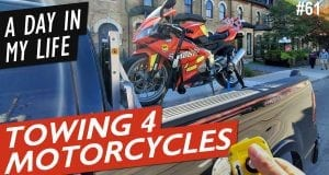 A Day In My Life: Motorcycle Towing Toronto