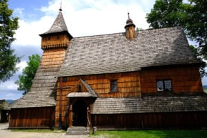 A typical wooden church in Lesser Poland