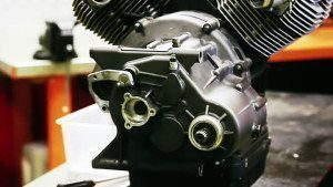 Air Cooled Motorcycle Engine