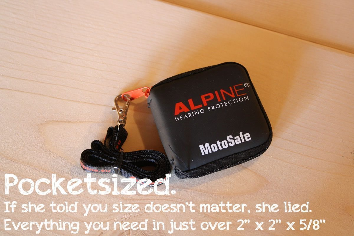 Alpine MotoSafe Pocketsized