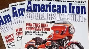 American Iron goes out of print