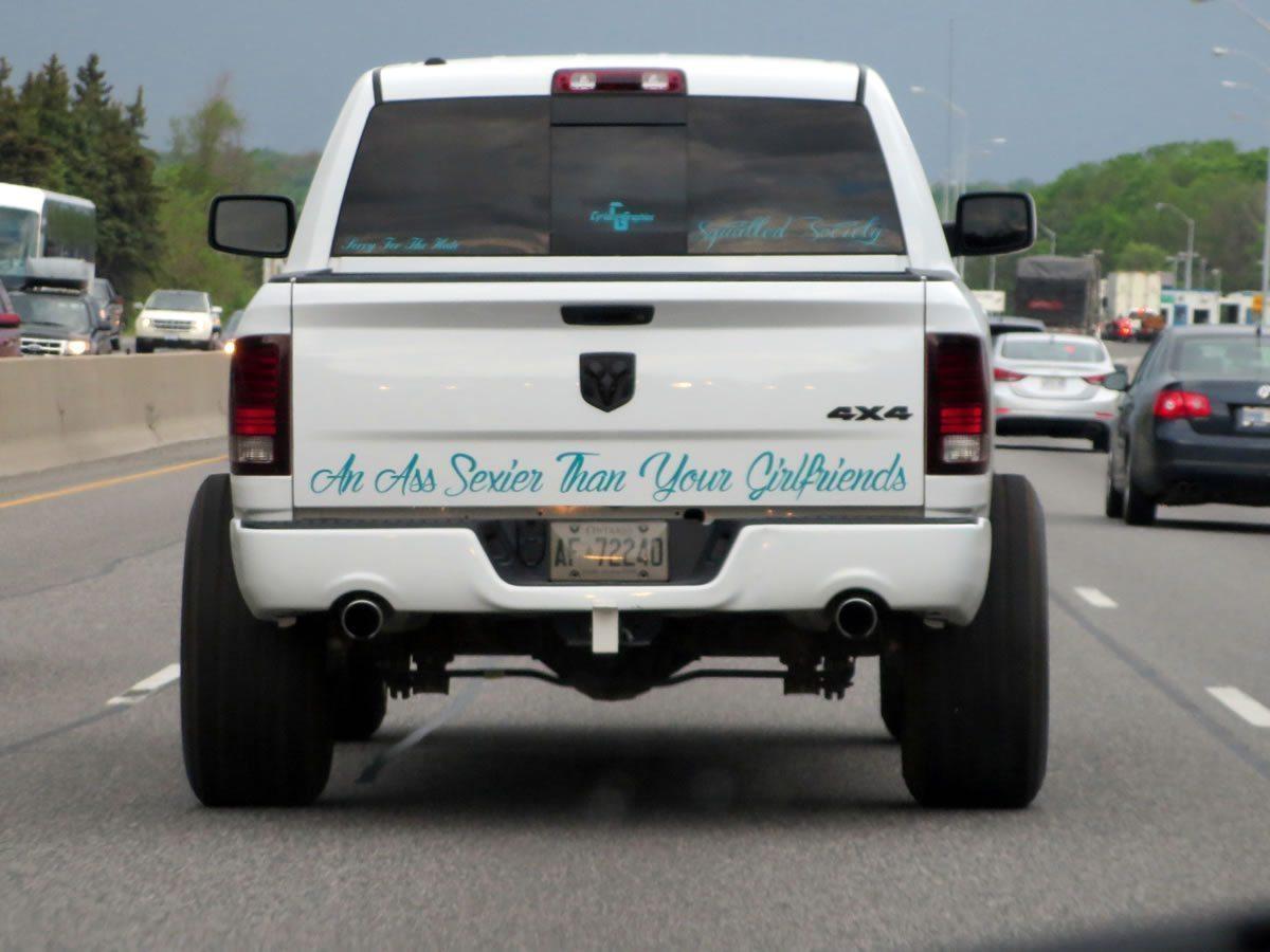 An Ass Sexier Than Your Girlfriends - Truck