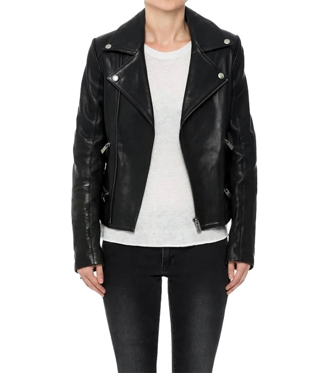Anine Bing Structured Biker Jacket
