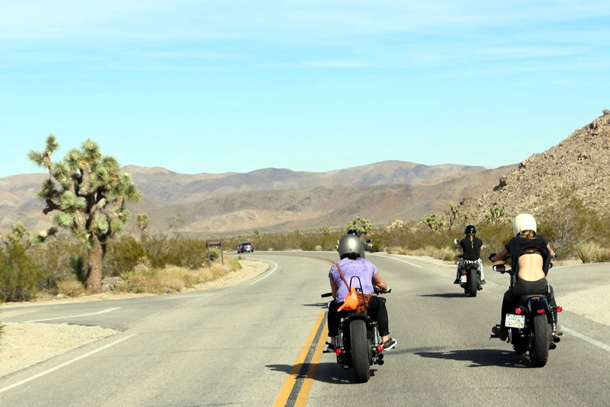 Babes Ride Out - Joshua Tree Motorcycle Ride