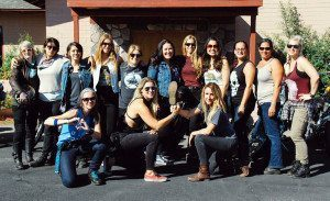 Babes Ride Out - The Girls