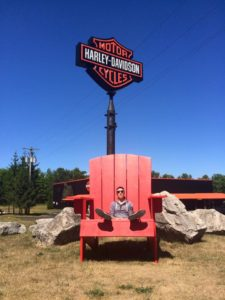 Big Harley-Davidson Chair