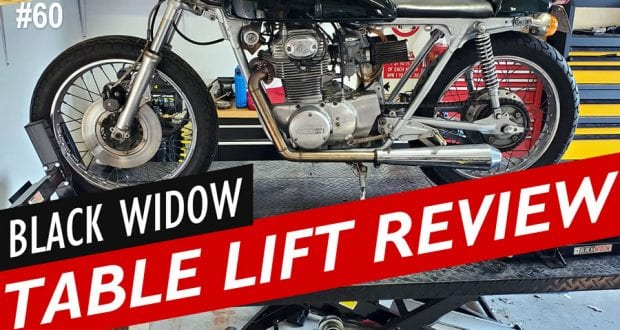 Black Widow Extra Wide Pneumatic Motorcycle Lift Table – Long Term Owner's Review