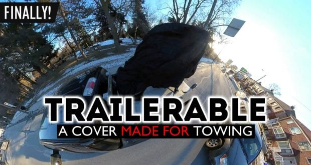 Black Widow Trailerable Full Dresser Motorcycle Cover Review