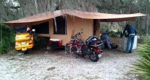 Camping Trailer for Motorcycles