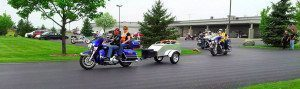 Cargo Pull Behind Motorcycle Trailer