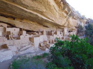 Cliff Palace at Mesa Verde National Monument - Colorado Motorcycle Ride