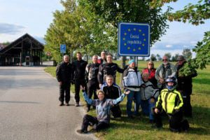 Czech Republic motorcycle tour group