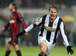 Del Piero - Juventus - Milan