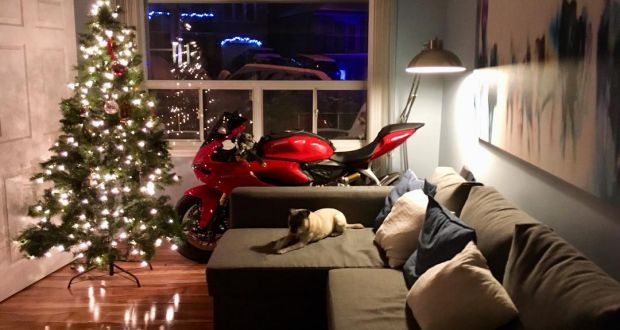 Ducati Panigale for Christmas - header