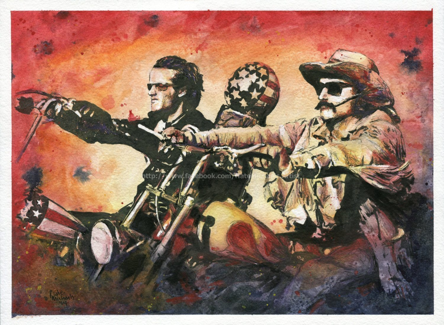Easyrider Motorcycle Painting