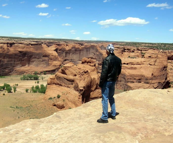Edge of Canyon de Chelly